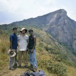 With our guides, Abid and Ragoo, on the trek